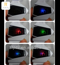 Mirror Face with Digital Display and Silicone Strap galaxy watch phone
