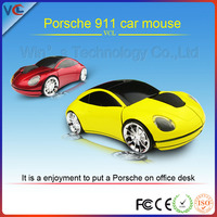Wireless Race Car Computer Mouse With 1200dpi