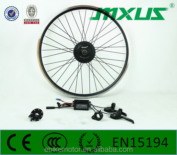 Gear electric bicycle motor,16-28 inch motor wheel,ebike conversion kit