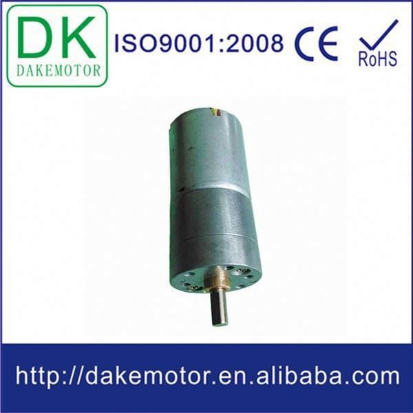 25mm 12V 24V DC electric vehicle high torque gearbox