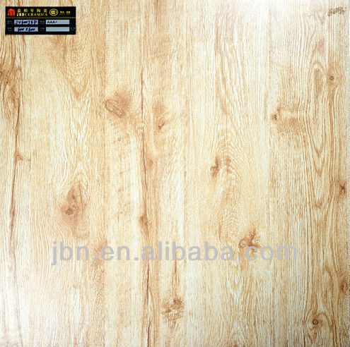 foshan 24x24 rustic wooden floor tiles/half-polished wood pattern tile porcelain