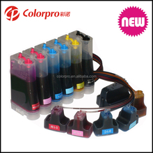 Colorpro Hot Sell refill ink system for HP Photosmart 3110 CISS for HP02 cartridges