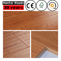 Maple Hardwood 22mm indoor bedroom hotel wood flooring