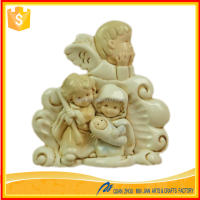 China christmas nativity resin holy family figurines decoration in christmas