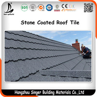 Construction Steel Material Balcony Used Asphalt Shingle Metal Roof Covering