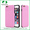 Custom design waterproof anti-throw anti-friction 2 in 1 cover case for iphone 6