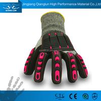 OEM service cut resistant shock absorber oil field work glove