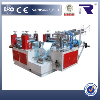 Automatic plastic PE shoe cover machine