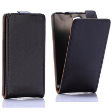 Vertical Top Magnetic Flip PC+PU Leather Case for Sony Xperia A2 Z2 Mini(Black)