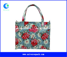Custom Canvas 4 Color Printed Bags High Quality Nice Shopping Wholesale Export Bag