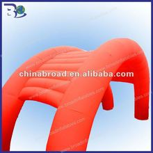 2012 HOT-selling colorful inflatable arch tent