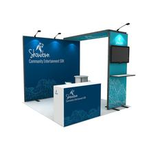 10ft Reusable cheap small tradeshow exhibition for booth dispaly