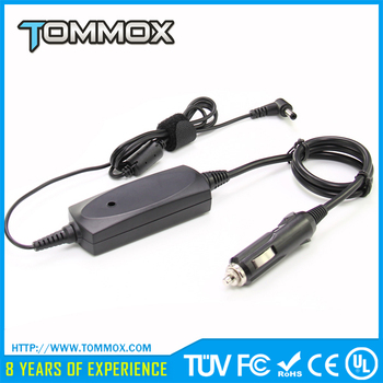 Tommox Colorful Multipurpose Double Promotional Unique Dual Usb Mini Battery Cars Charger 20V 2A 40W For Lenovo
