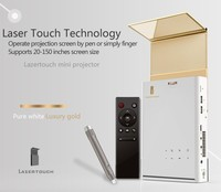Touch Smart Pico 200inch proyector Lazer Mini Led Projector