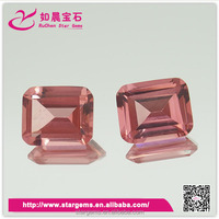 New product octagon synthetic morganite