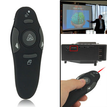 Newest Multimedia Presenter with Laser Pointer & USB Receiver for Projector / PC / Laptop