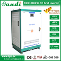 Big power off grid dc to ac power inverter 60KW built in solar charge controller