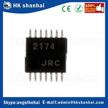 (New and original)IC Components NJM2174V-TE2 Integrated Circuits (ICs) Linear - Amplifiers - Audio IC Parts