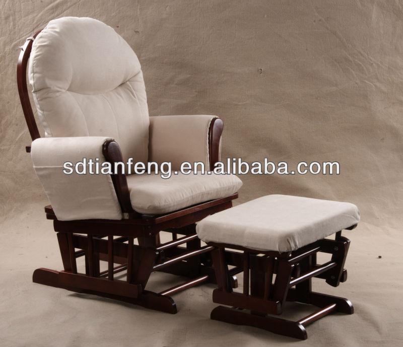 Aliante allattamento al seno a dondolo sedia con for Sedia a dondolo con poggiapiedi