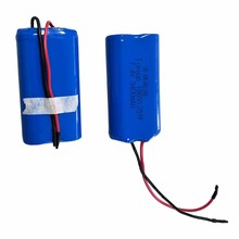 18650 battery 2S1P 7.4V 3400mAh 18650 Li-ion Rechargeable Battery Pack for Medical device