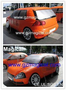 customizable advertising inflatable car model