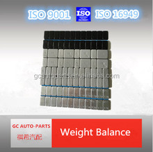Adhesive Wheel Balance Weight/steel wheel weights for car