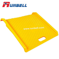 Portable Delivery 1000 lb Capacity Poly Curb Ramp