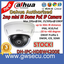 wholesale new technology dahua ip camera ipc-hdbw4200e mini outdoor poe security network cctv camera 2mp 30m ir ip dome camera