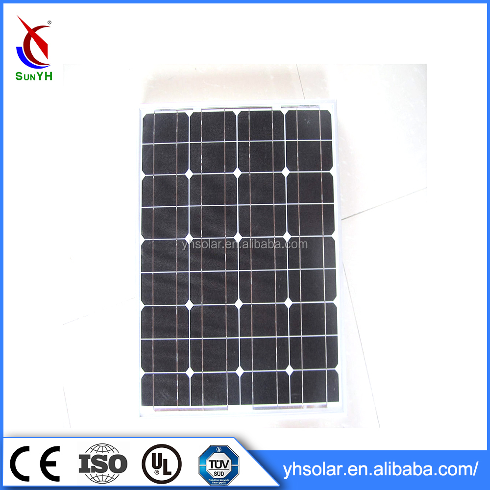 Wholesale Solar Panel 50W Monocrystalline Solar Panels For Apartments