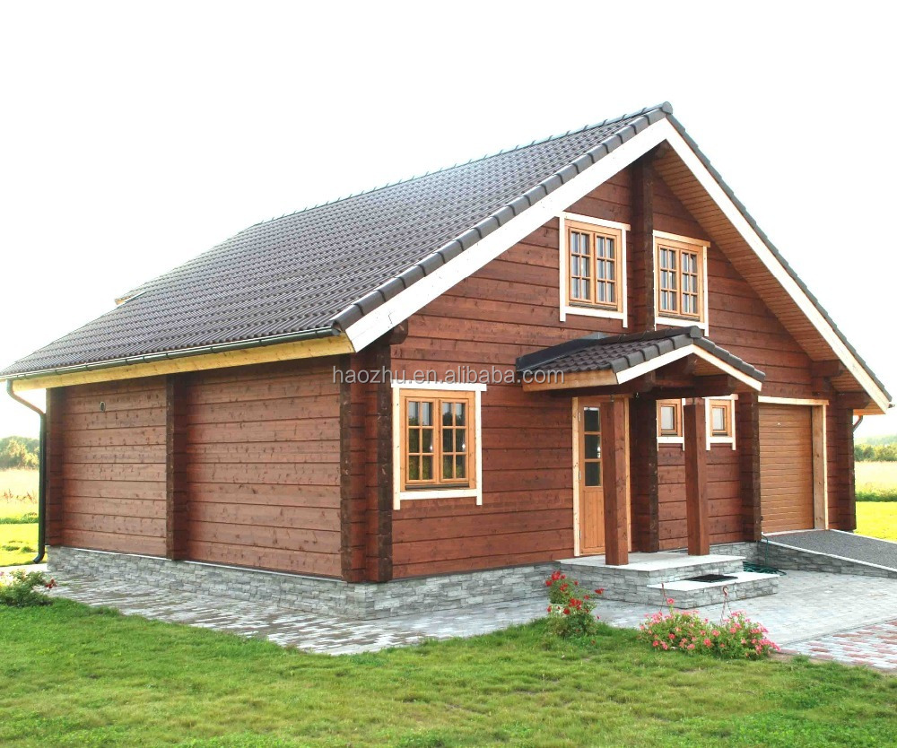 prefab wood light bungalow log homes and cabins