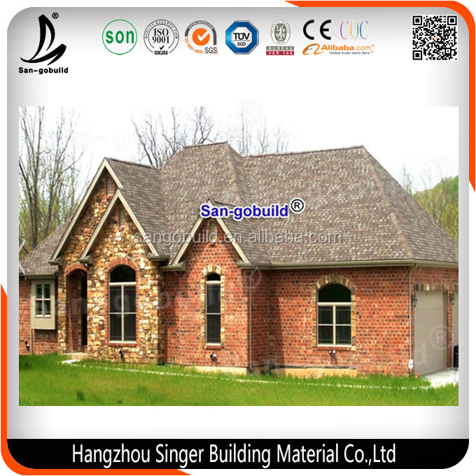 2016 Best Selling Roofing Material Asphalt Shingles, Roof Tile Prices Made in China