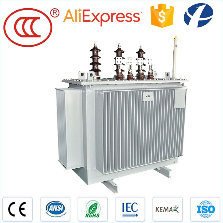 400kva Oil immersed 3 Phase electric power transformer 20kv