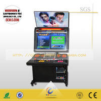 Double touch screen arcade cabinet fighting video game for sale