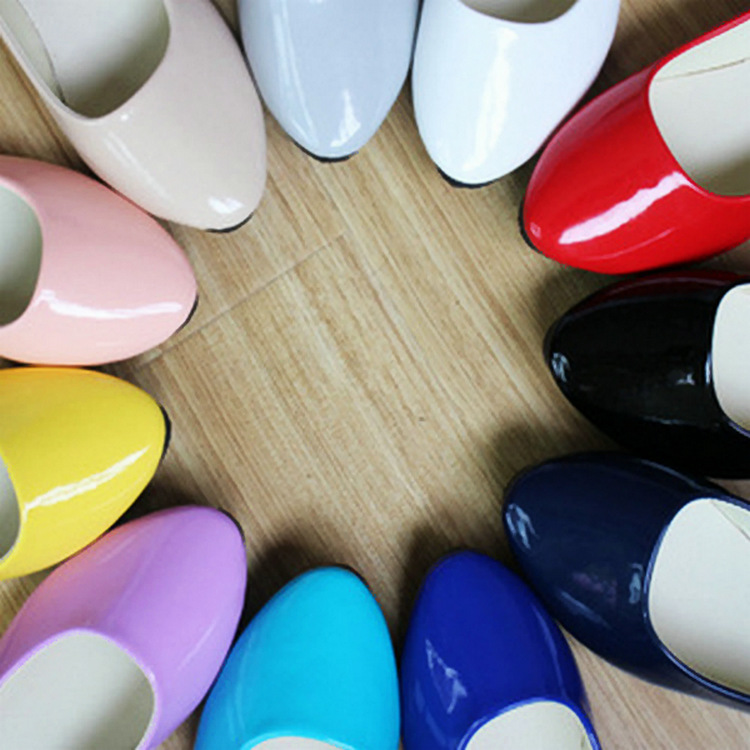 2016 Spring Cheap Wholesale Candy Multi Colored Flat Women shoes