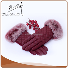 Big Fur Lined Pigskin Dress Gloves in Any Color