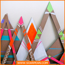 party decoration custom colorful paper hanging decoration