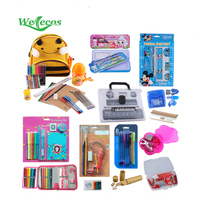 2018 Promotion Wholesale Office Stationery Back to School Mini Stationery Set for Students
