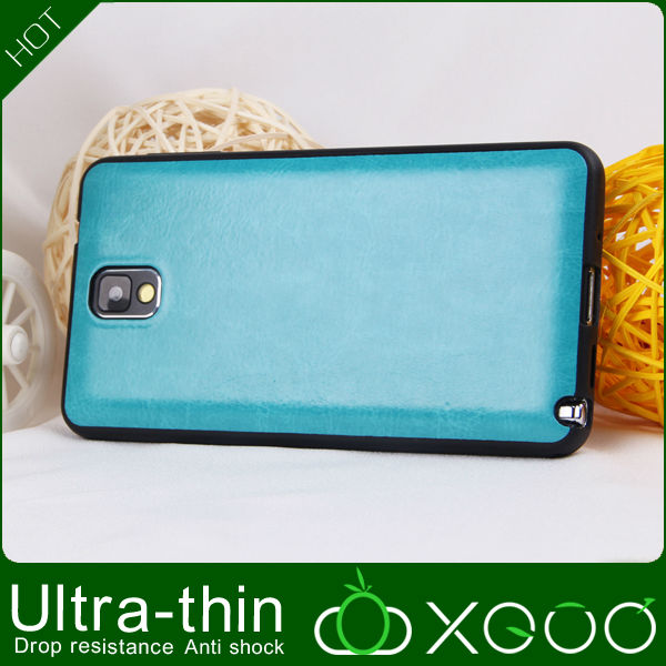 for note3 leather case combo cover made in china