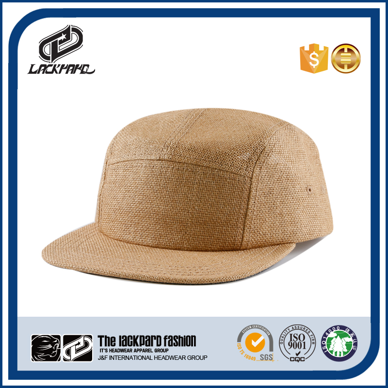 Blank straw vintage snapback baseball cap and hat