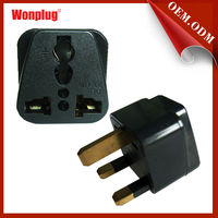 WP-7 travel adapter&travel plug with CR&ROHS for people Suitable For England,Hong Kong,UAE,Singapore,Malaysia etc