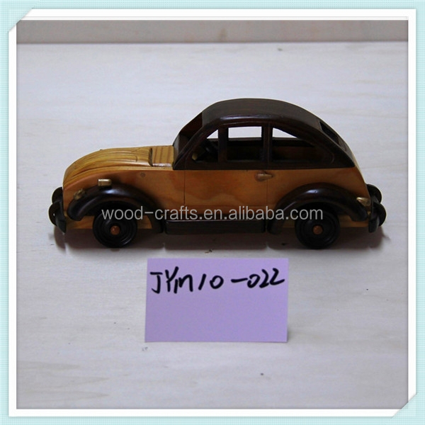 2015 home deco arts and crafts of classic car wooden