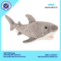 Wholesale High Quality Shark Model Interactive Plush Dog Toy
