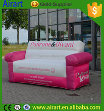 pink inflatable cartoon sofa model for commercial advertising