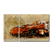 Vintage Decoration Canvas Art Painting