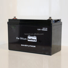 Battery manufacturer 12v 100ah energy storage battery for rv, motorhome, golf carts