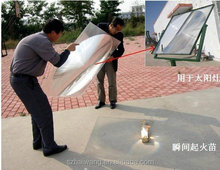 HW-F1000-5 big solar fresnel lens for hotdog cooking
