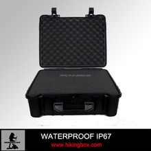 IP67 Hard ABS Plastic carrying case/ Military tool case/ Waterproof equipment case HIKINGBOX Item No.HTC020