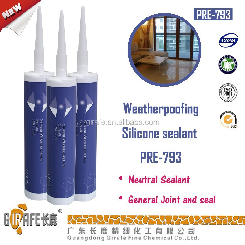 Neutral Weatherproof Construction Silicone Adhesive