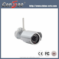 Outdoor Bullet Onvif P2p Wifi Ip Camera H.264 P2P Wireless Ip Camera Support 32G SD Card&Audio OutPut&Input&Phone App