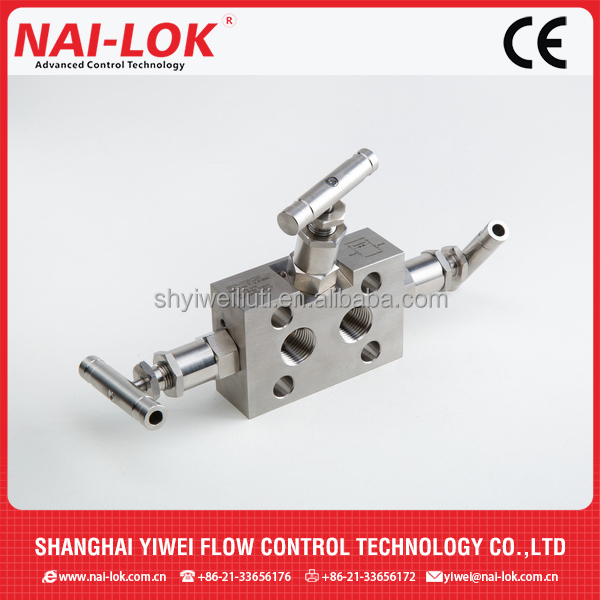 Incloy Alloy 3-Way Manifolds Valves